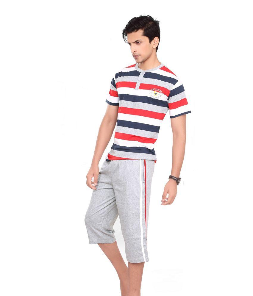3b32b512f1 Maxis Men Cotton Night Suit - Buy Maxis Men Cotton Night Suit Online at Low  Price in India - Snapdeal