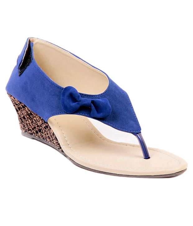 8f78abf6d7e Ten Dutch Heel Black Wedge Sandals Price in India- Buy Ten Dutch Heel Black  Wedge Sandals Online at Snapdeal