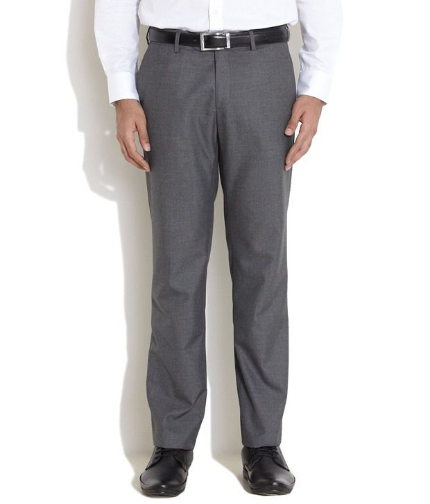 Elitus Gray Slim Formals