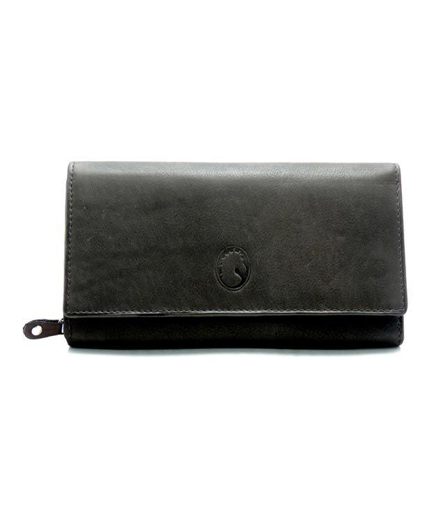 Jstarmart Dark Brown Leather Ladies Wallet Jsmfh0020