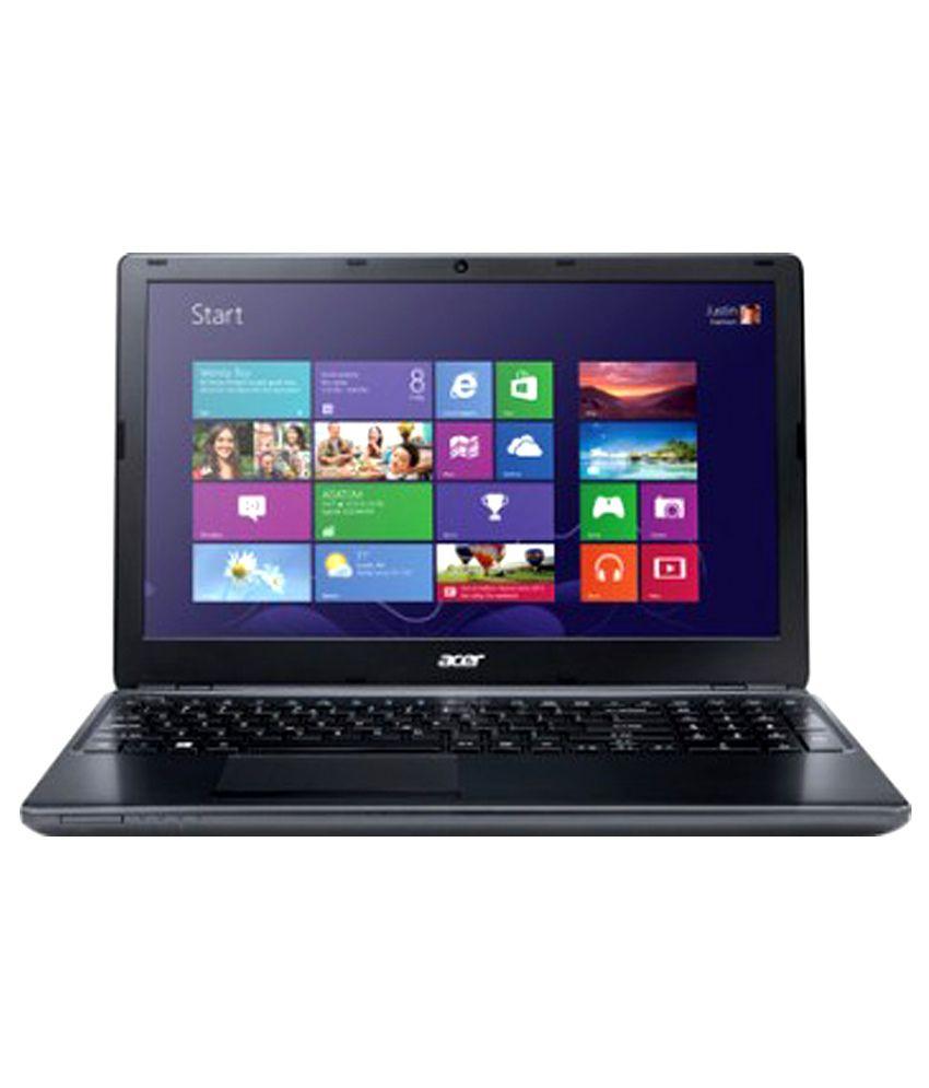 Acer Aspire E1 570 Laptop (Intel Pentium- 2GB RAM- 1TB HDD- 39.62cm (15.6)- Linux) (Black) (NX.MGRSI.005)