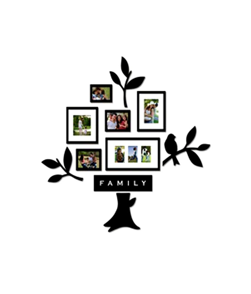 Blacksmith Black Family Tree Photo Frame Collage 6 Piece Buy