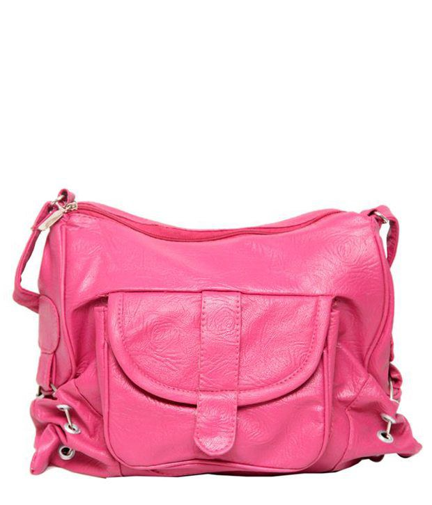Borse G30 Pink Sling Bags - Buy Borse G30 Pink Sling Bags Online ...