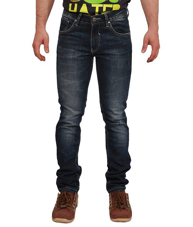 Hangover Blue Slim  Jeans