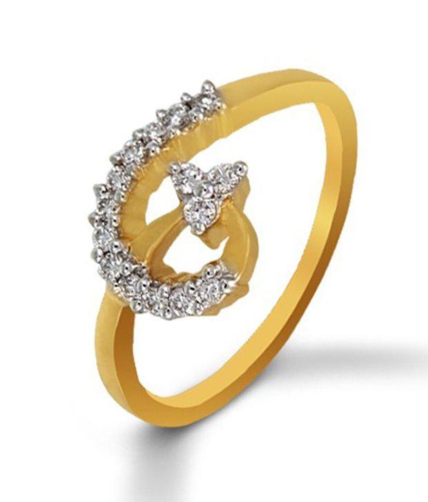 Sunshine Diamond Ring By P.N.Gadgil