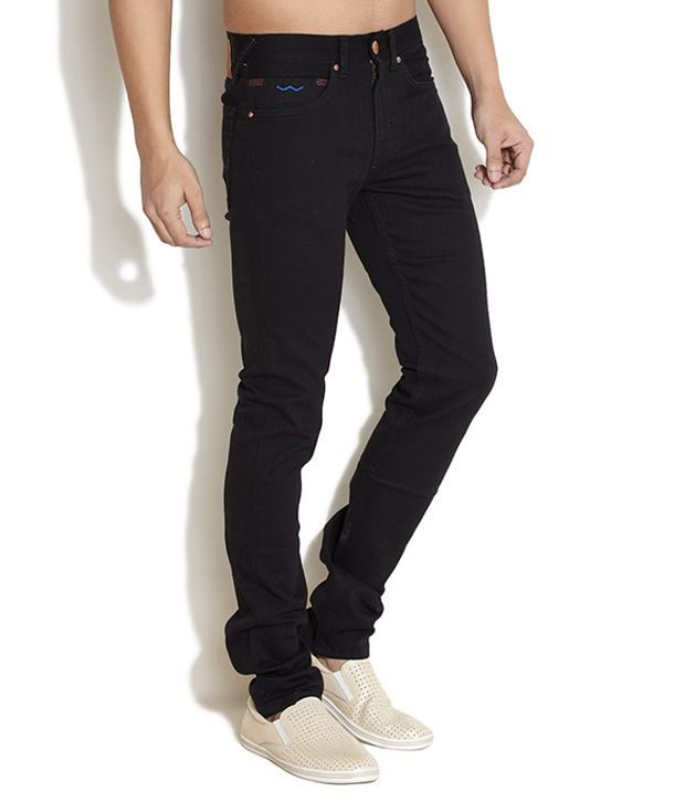 Web Jeans Black Slim Jeans