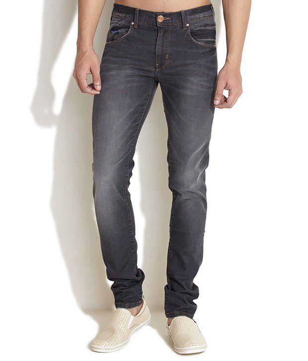 Web Jeans Gray Slim Jeans