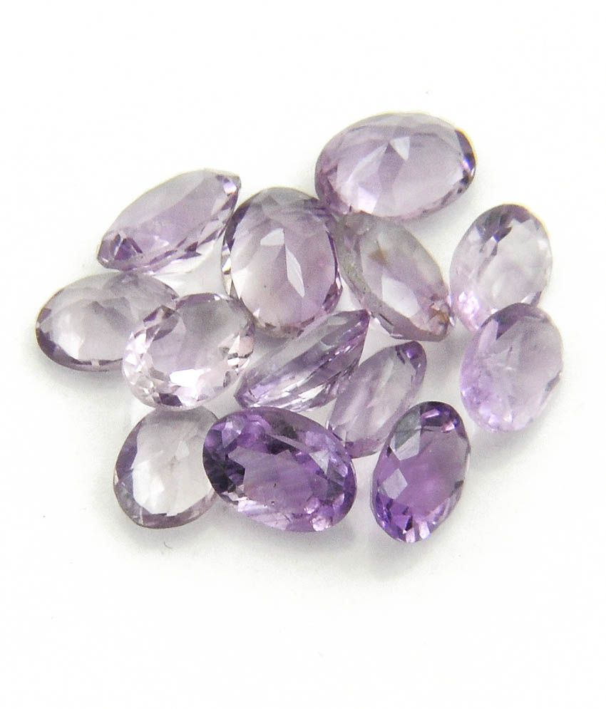 Barishh Gems Small Sizes Amethyst Lots 10.00ct Natural ...