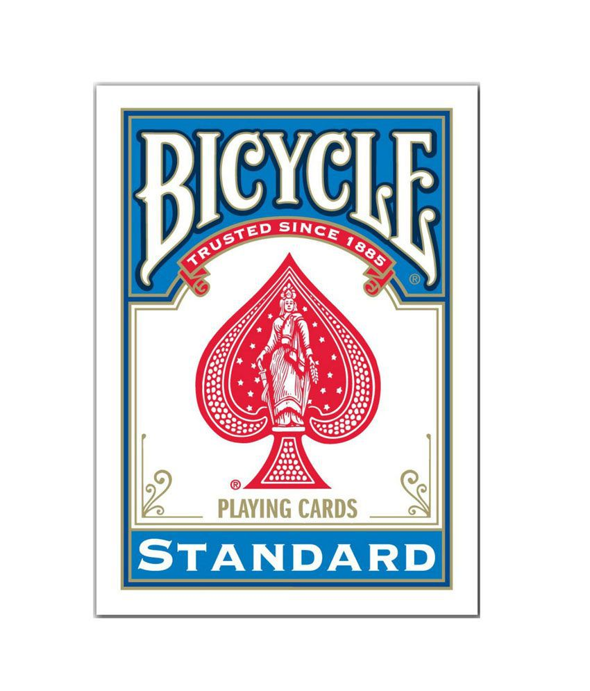 Bicycle Standard Playing Cards Deck - Blue - Buy Bicycle Standard Playing Cards Deck - Blue ...