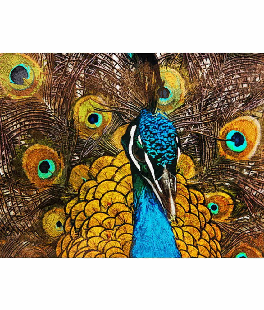 Fizdi Modern Art Canvas Peacock Buy Fizdi Modern Art Canvas