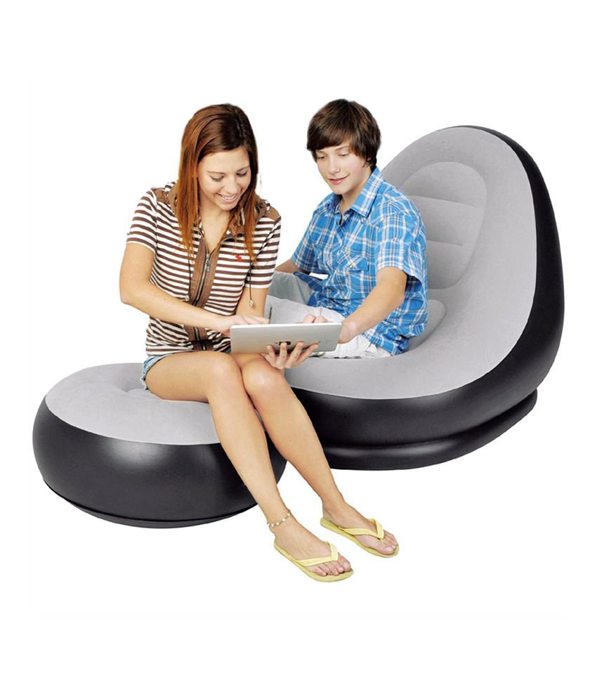 Intex Inflatable Footrest Sofa Centerfieldbarcom