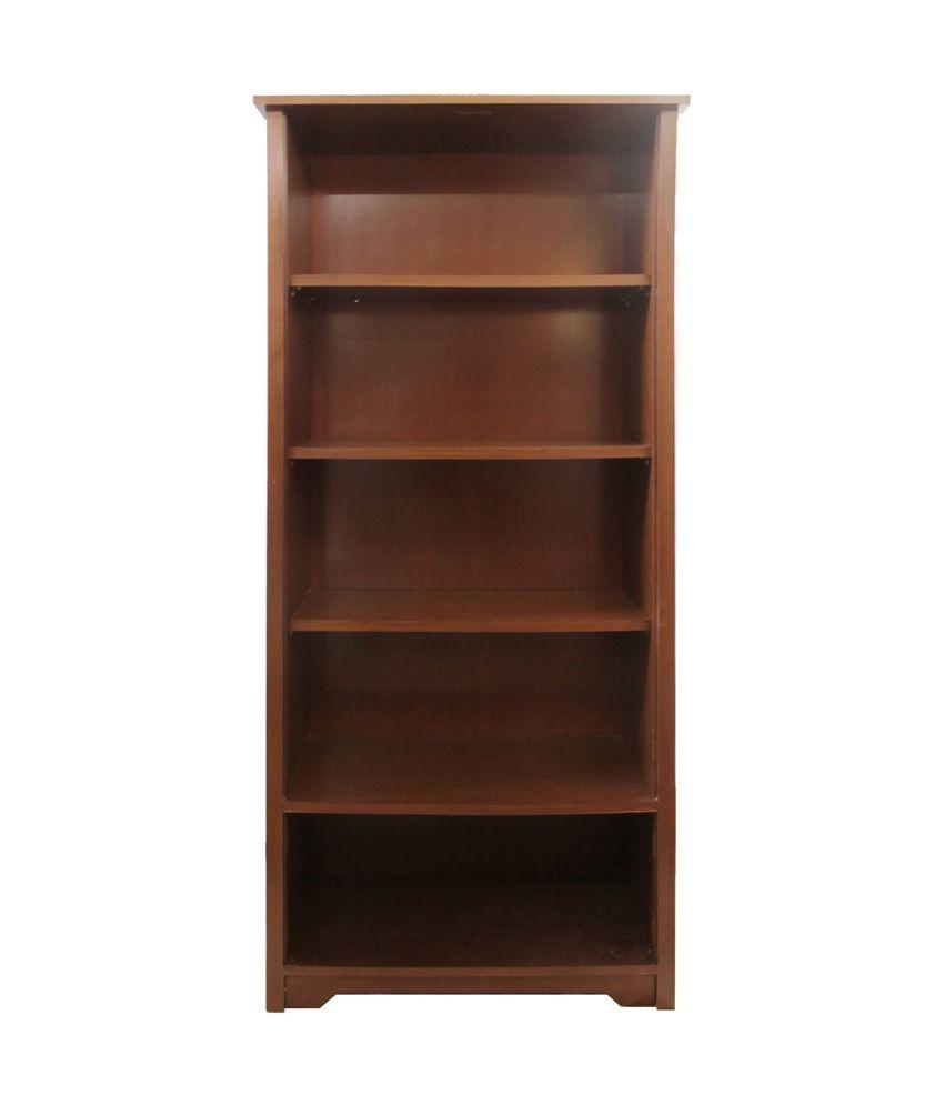 Silver Pine Library Bookcase