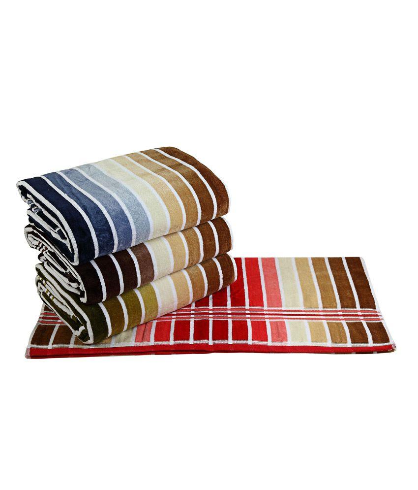Aransa Cotton Terry Towel