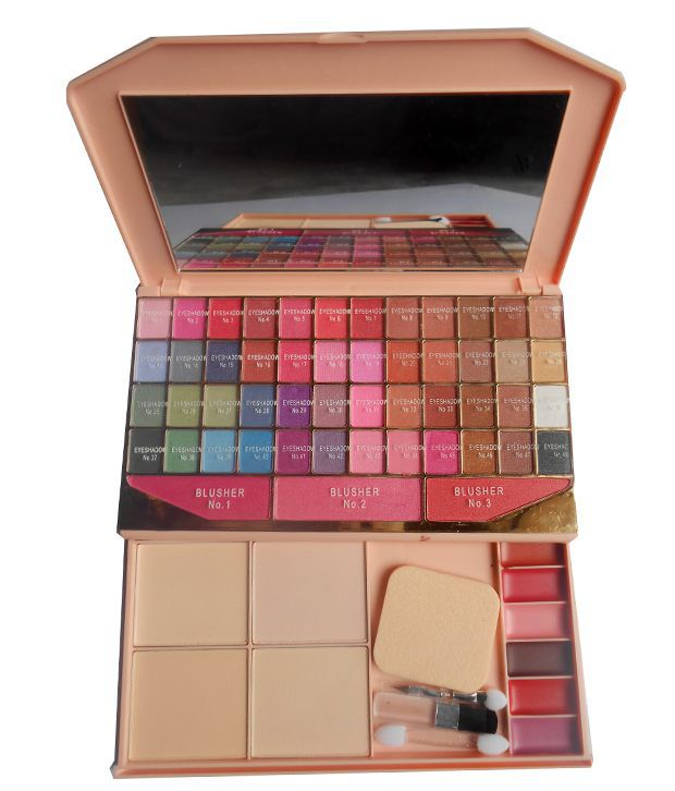 Kiss Makeup Products: Kiss Beauty Ads Fashion Colour Makeup Kit 48 Color Eye