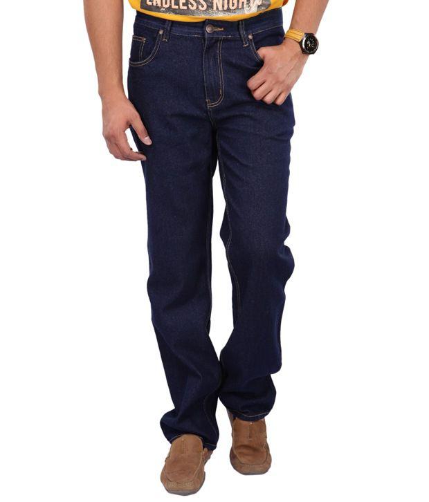 ZAAB Navy Regular  Jeans