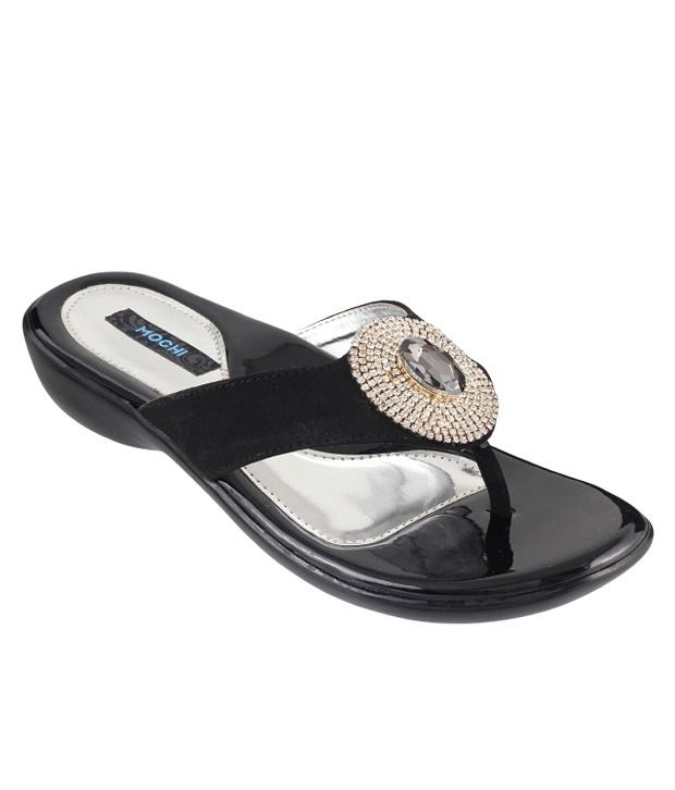 Mochi Black Flat Slip-On