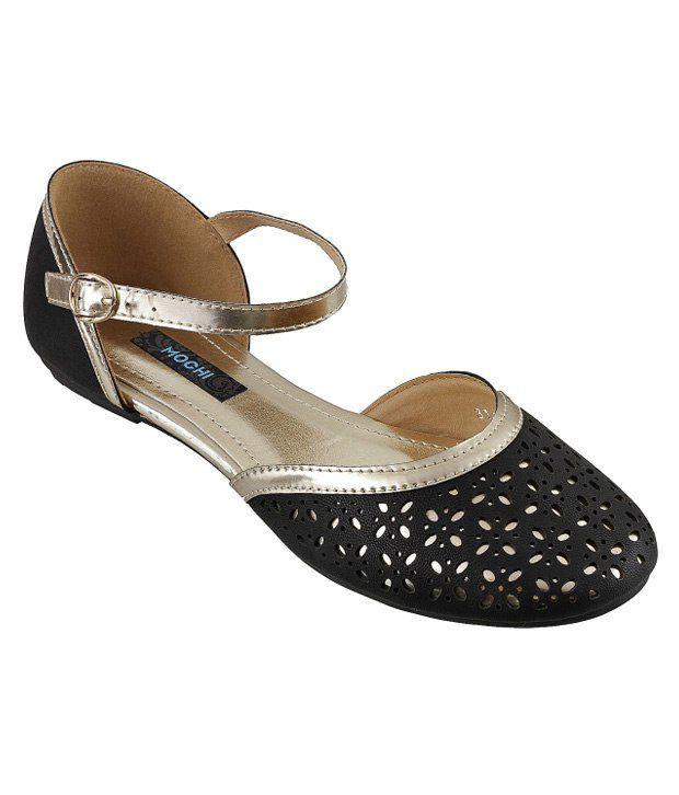 Mochi Black Sandal