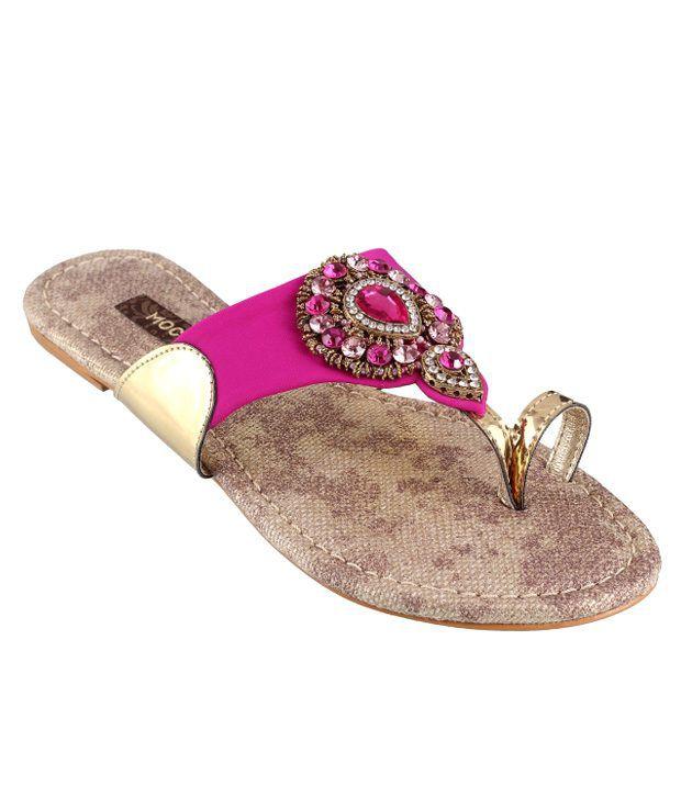 Mochi Pink Flat Slip-On