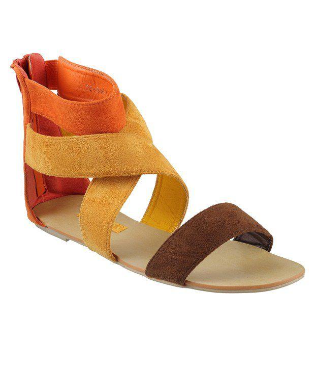 Mochi Yellow Sandal