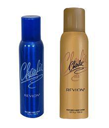 Revlon Charlie - Blue + Gold (Perfumed Body Spray 150 Ml) Deodorant