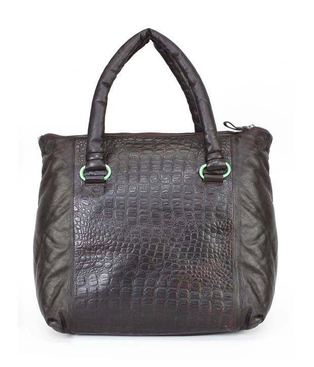 Brune Leather Ladies Tote Bags