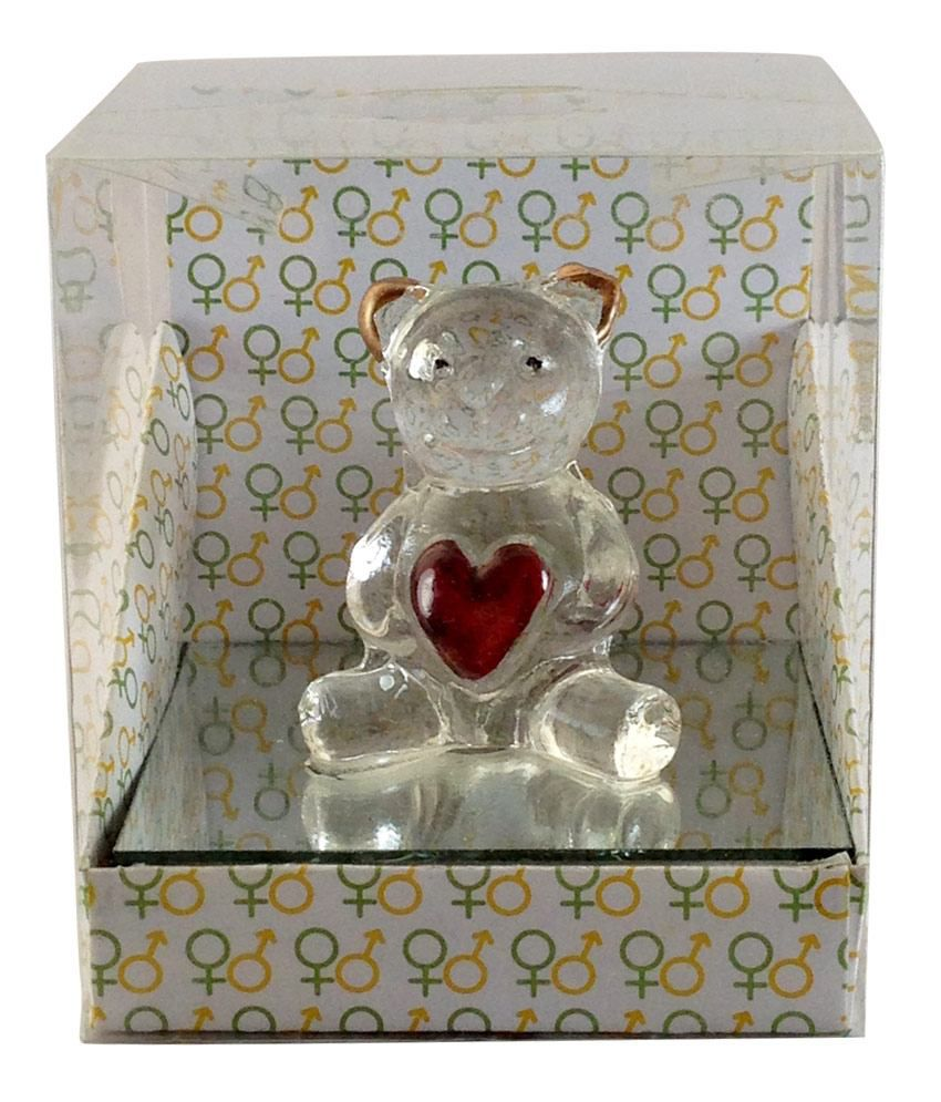 Gift Island Gift Island Non Personalized Glass Teddy