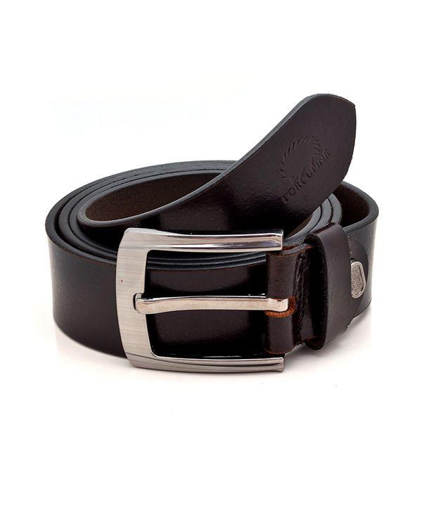 GRJ India Pure Leather Belt - Grjbelt2-7