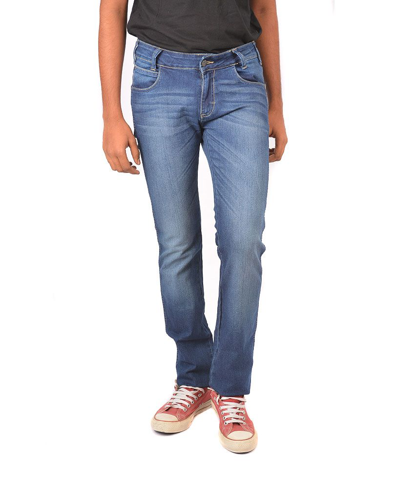 Wrangler Slim Fit Cotton Jeans