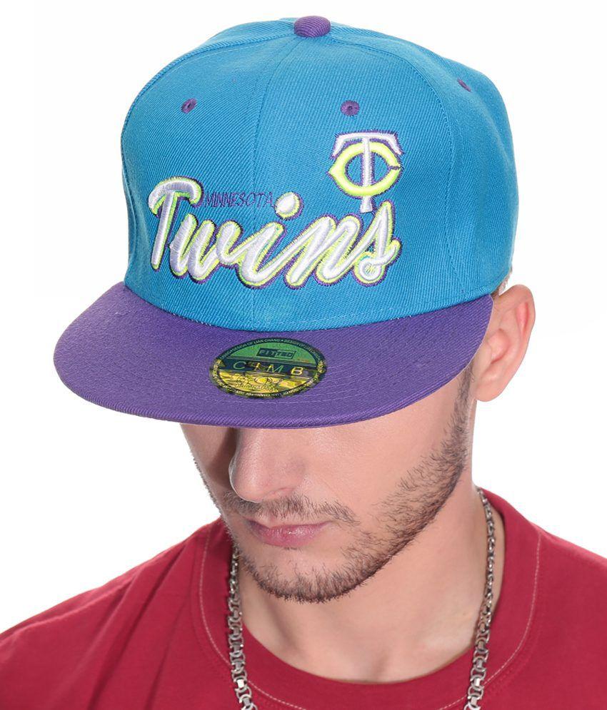 YOYO Turquoise Cotton Baseball Cap Men No