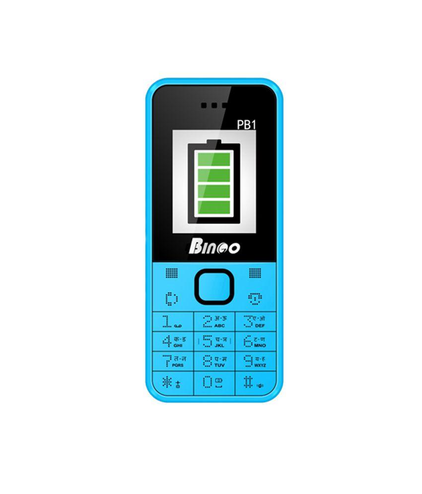 Bingo Power Bank Blue