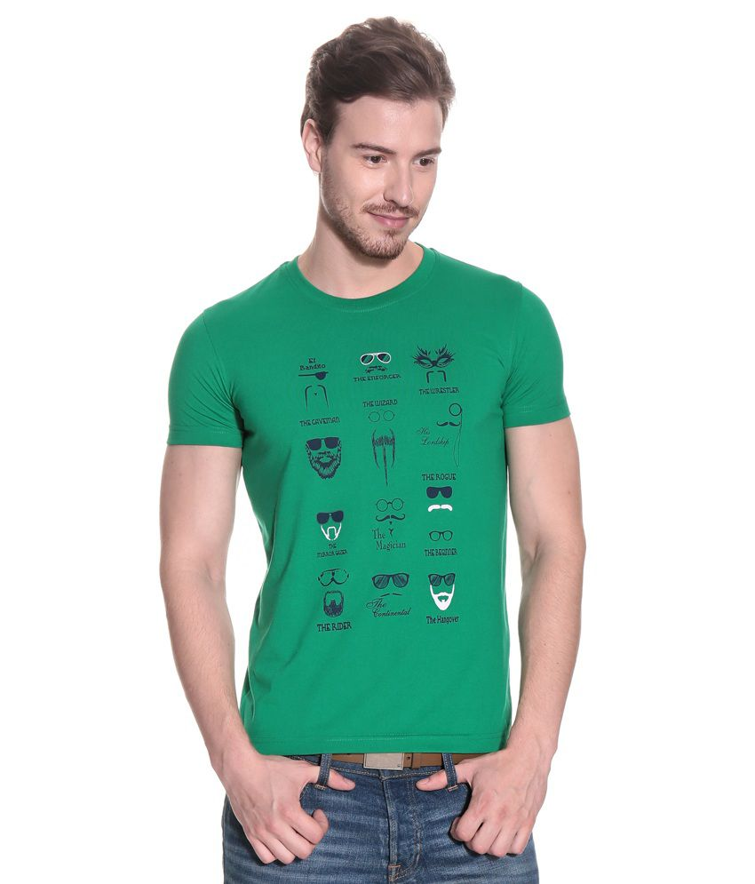 Duke Green Cotton Blend  T-Shirt