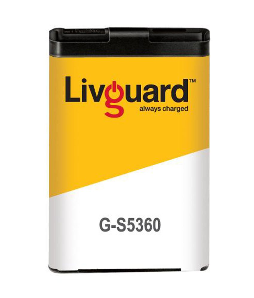 Livguard G-s5360 Lithium Ion Battery For Samsung Galaxy Y