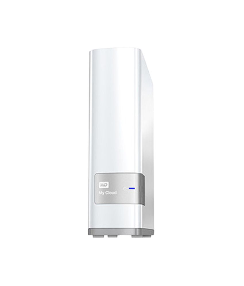 WD My Cloud 4 TB Wired External Hard Disk (White)