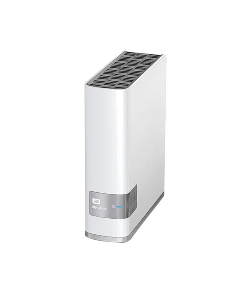 WD My Cloud Personal Storage 8 89 cm (3 5) 3 TB External Hard Disk (White)