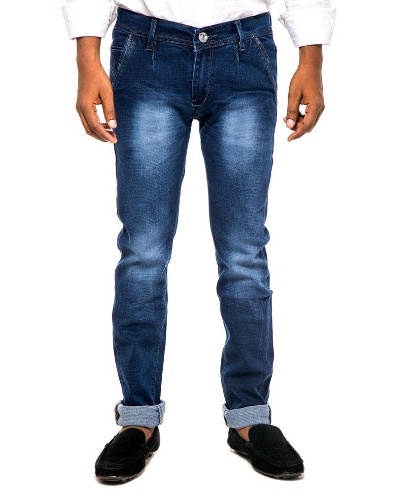 Marry Land Blue Regular Fit Jeans