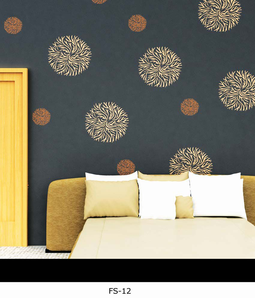 Decorze Flower Stencils For Wall Painting Flowers Healthy