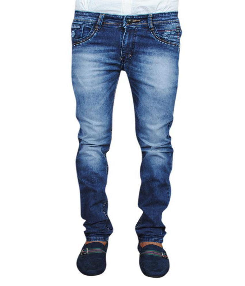 Seven Ways Men's Funky Jeans - Lycra