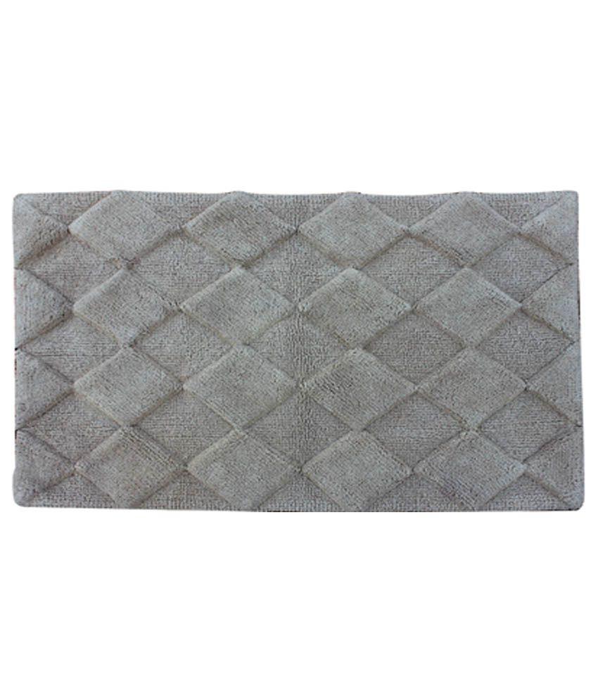 Azaani Diamond Sand Cotton Floor Mat