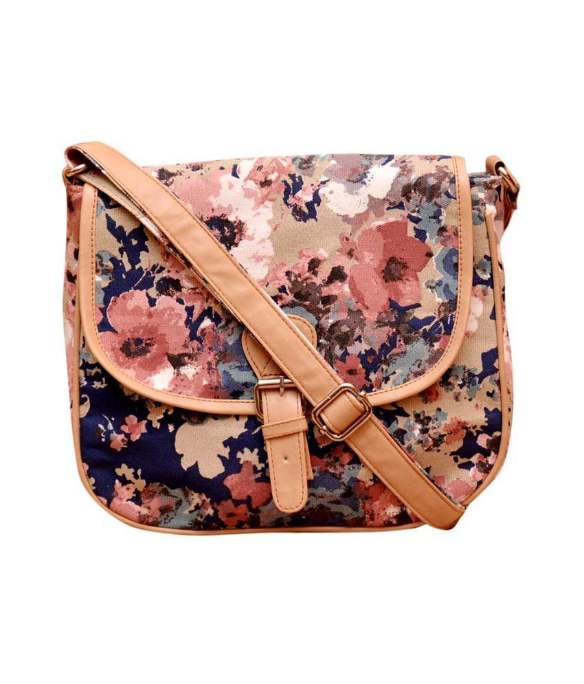 Moac Mult Color Canvas Cloth Sling Bags - Buy Moac Mult Color ...