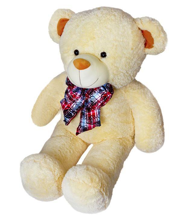 Dhoom Soft Toys Teddy Bear Jumbo 5 Feet Cream 60inches