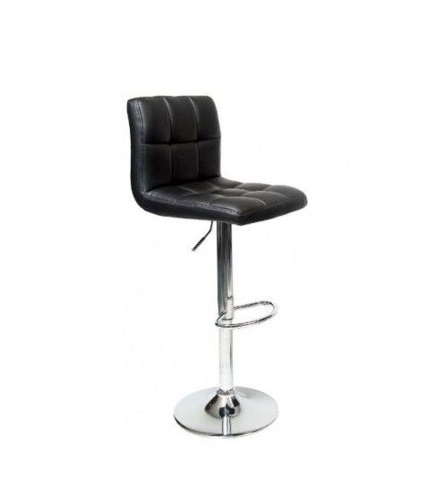 Cafeteria Bar Chair in Black
