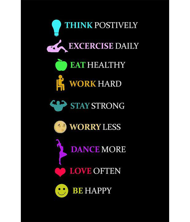 Painting Mantra Healthy Living Quotes SDL 1 a456d