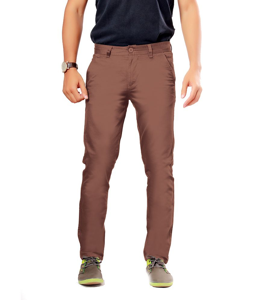 Uber Urban Rocky Trouser Brown