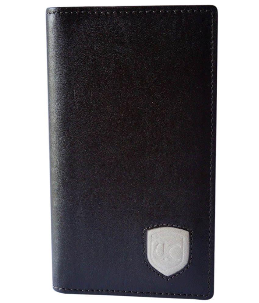 Ultra Craft Black Leather Card Holder