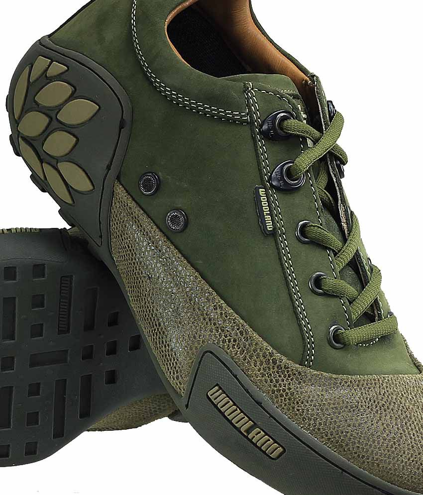 abd12c96f22 Woodland Green Color Casual Shoes For Men - Buy Woodland Green Color ...