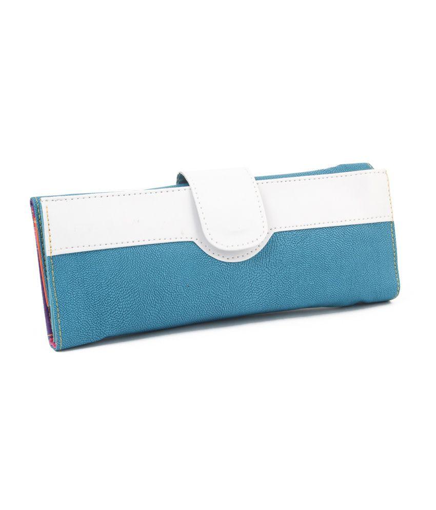 Dernier Cri Blue Wallet