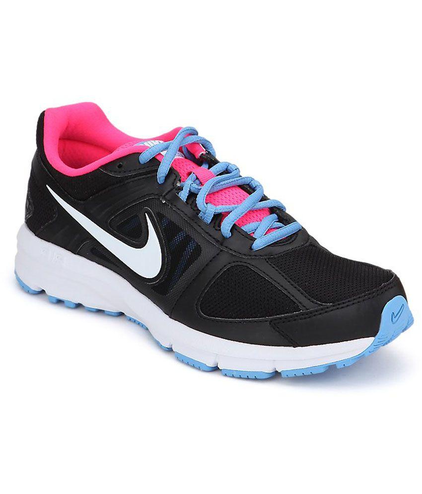 2d9fb7eda89c Nike Air Relentless 3 Msl Black Running Shoes Price in India- Buy Nike Air  Relentless 3 Msl Black Running Shoes Online at Snapdeal