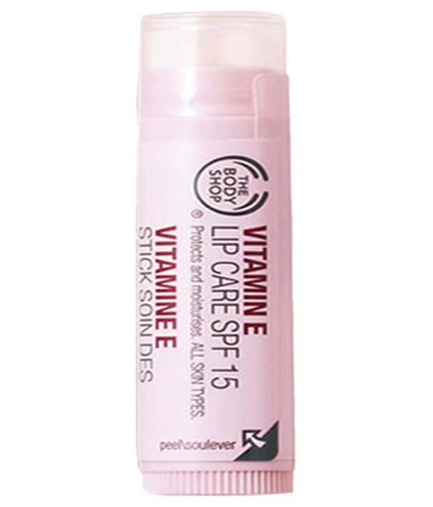 9a52359375e The Body Shop Vitamin E Lip Balm Pink SPF 15 10 gm  Buy The Body Shop  Vitamin E Lip Balm Pink SPF 15 10 gm at Best Prices in India - Snapdeal