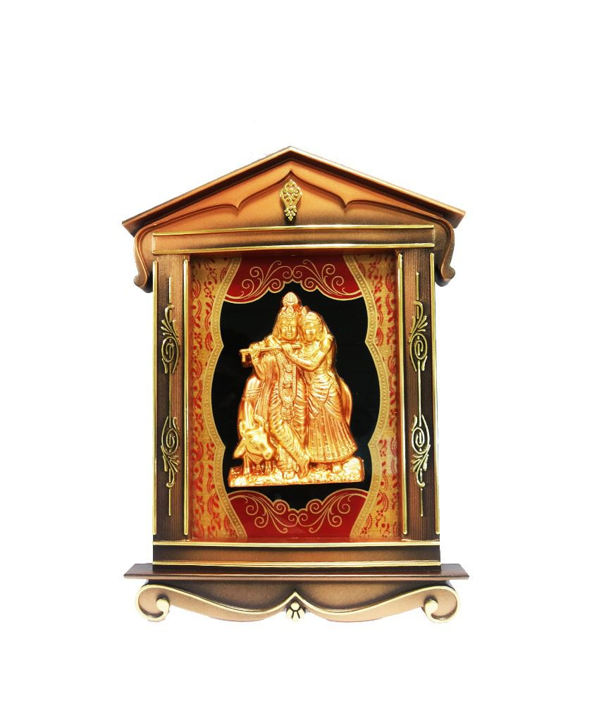Aadi Shakti Lord Radha Krishna Jharokha Photo Frame