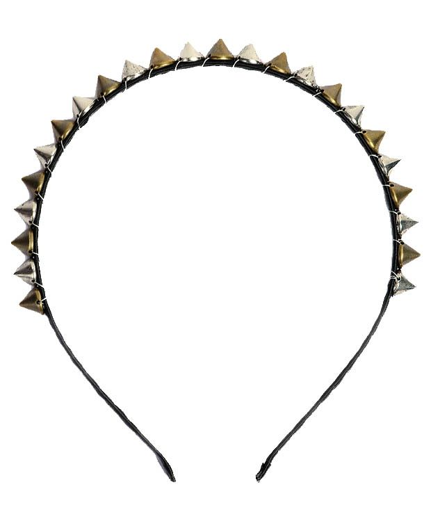 ShinningDiva European Spike Hair Band